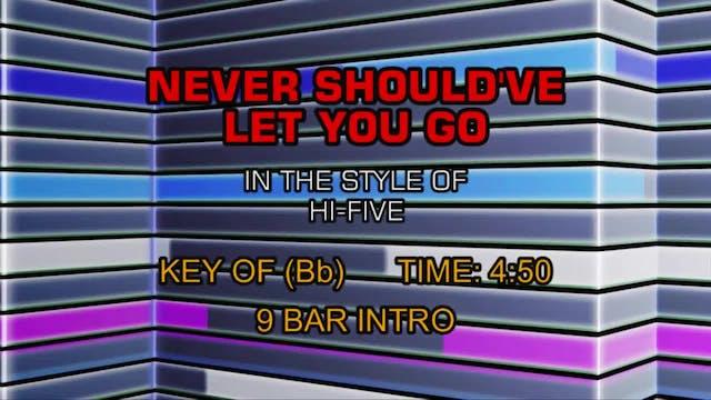 Hi Five - Never Should've Let You Go