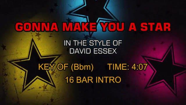 David Essex - Gonna Make You A Star