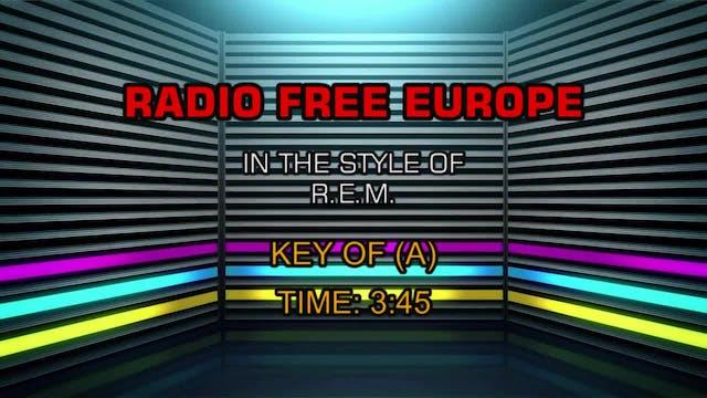 R.E.M. - Radio Free Europe