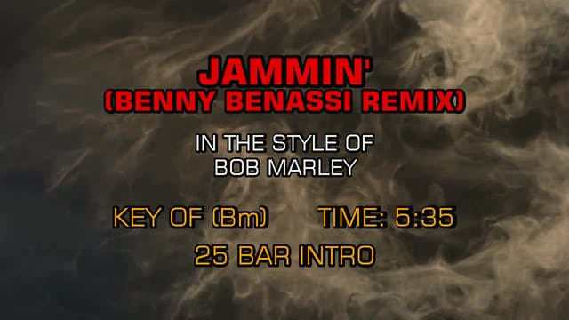 Bob Marley - Jammin' (Benny Benassi R...