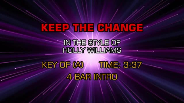 Holly Williams - Keep The Change
