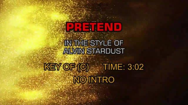 Alvin Stardust - Pretend