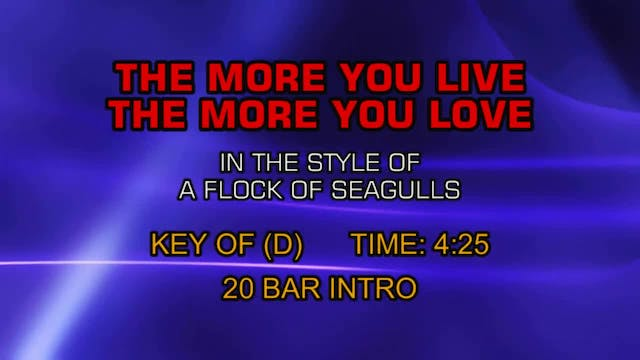 A Flock Of Seagulls - The More You Li...