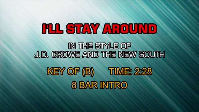 J. D. Crowe & The New South - I'll St...