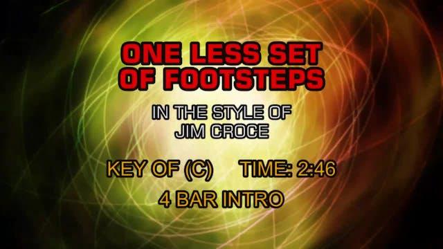 Jim Croce - One Less Set Of Footsteps