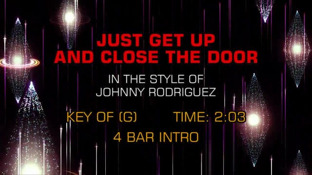 Johnny Rodriguez - Just Get Up And Cl...