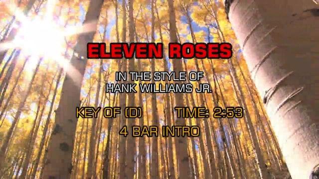 Hank Williams Jr. - Eleven Roses