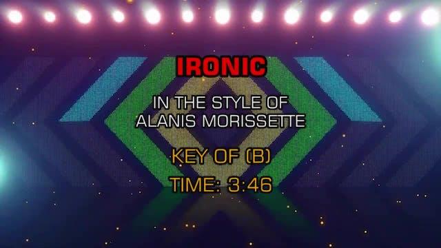 Alanis Morissette - Ironic