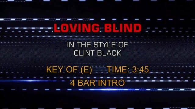 Clint Black - Loving Blind
