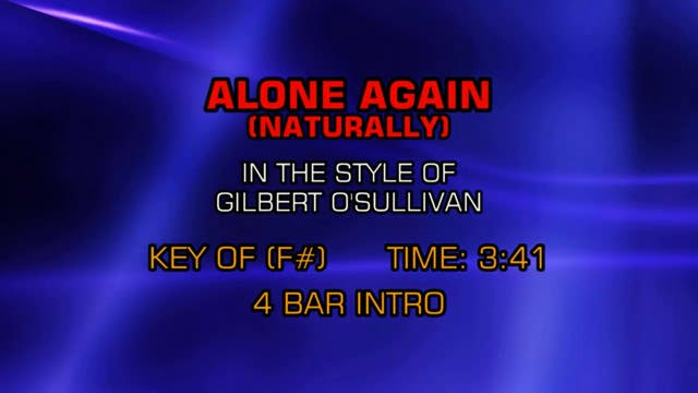Gilbert O'Sullivan - Alone Again (Nat...