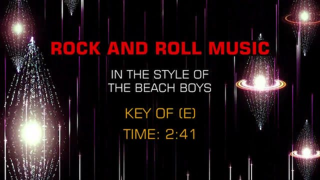 Beach Boys, The - Rock And Roll Music