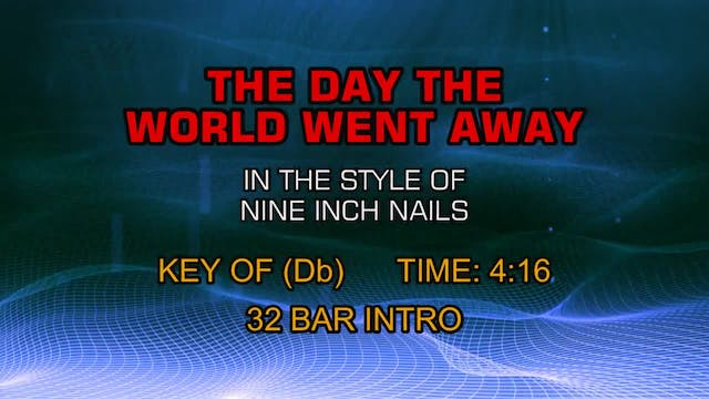 Nine Inch Nails - The Day The World W...