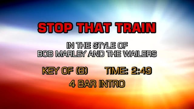 Bob Marley And The Wailers - Stop Tha...