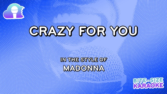 BSK - Crazy For You - Madonna