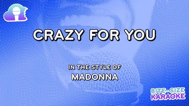 BSK - Crazy For You - Madonna