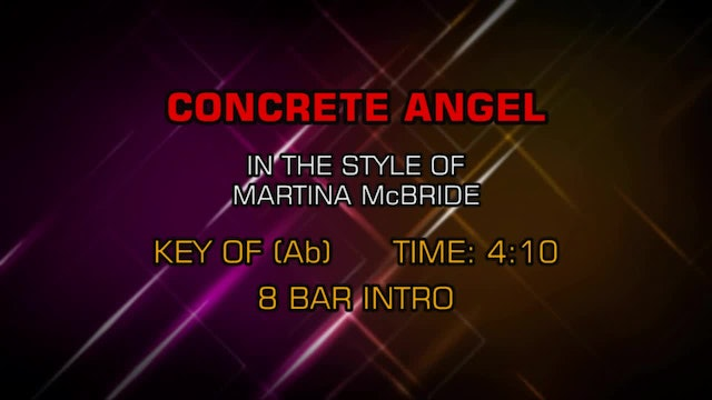 Martina McBride - Concrete Angel
