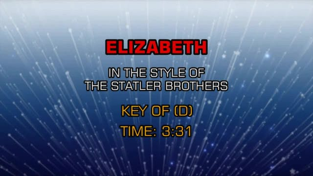 Statler Brothers, The - Elizabeth