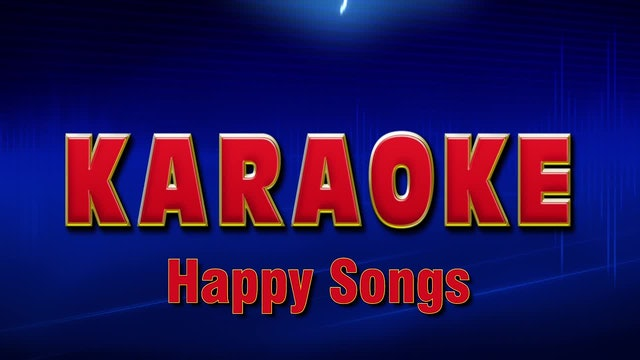 Lightning Round Karaoke - Happy Songs