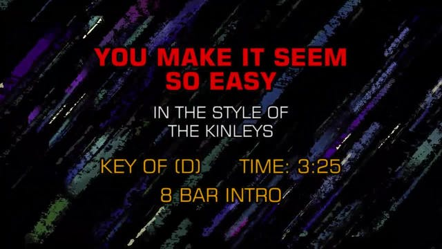 Kinleys, The - You Make It Seem So Easy