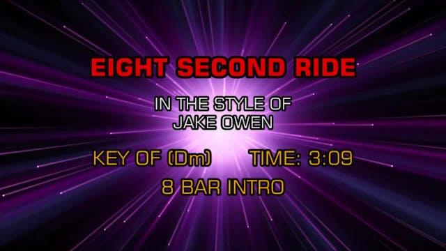 Jake Owen - Eight Second Ride