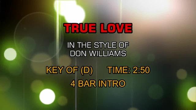 Don Williams - True Love