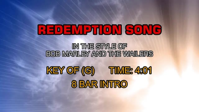 Bob Marley And The Wailers - Redempti...