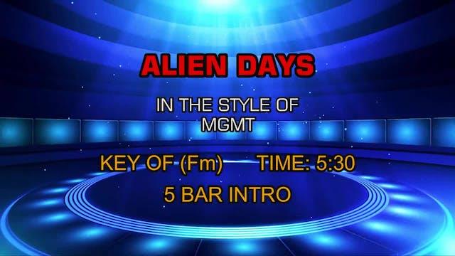 Mgmt - Alien Days