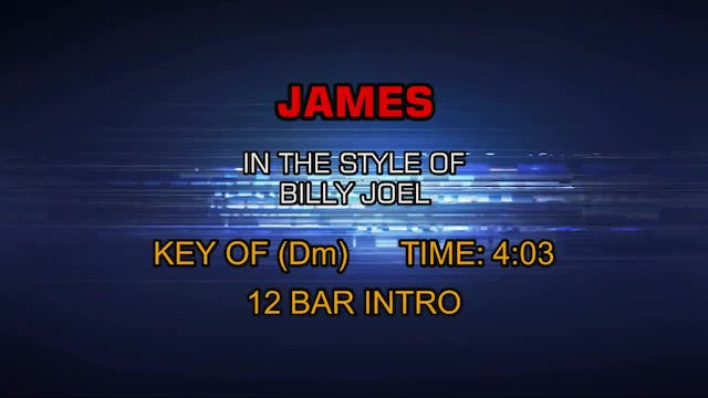 Billy Joel - James