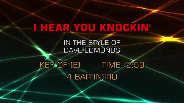 Dave Edmunds Band - I Hear You Knockin'
