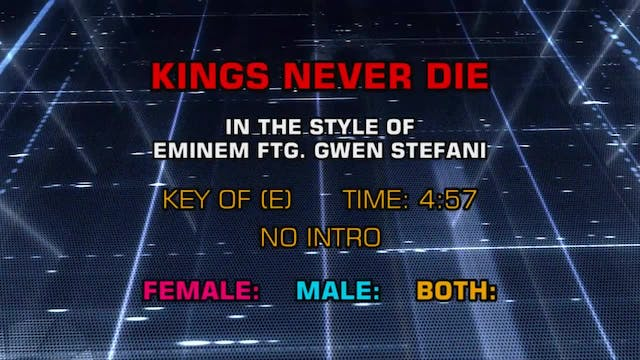 Eminem featuring Gwen Stefani - Kings...