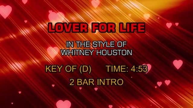 Whitney Houston - Lover For Life