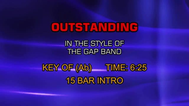 The Gap Band - Outstanding