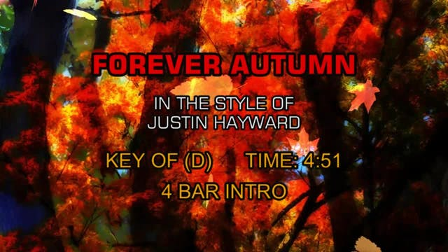 Justin Hayward - Forever Autumn