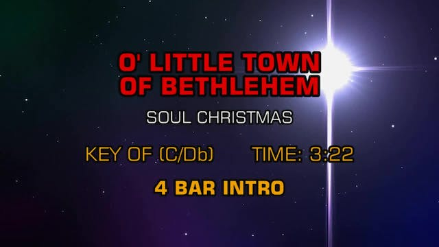 Soul Christmas - O' Little Town Of Be...