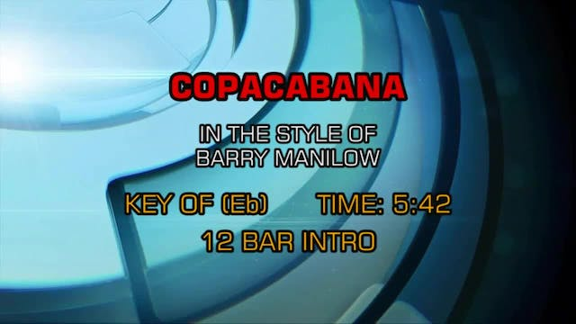 Barry Manilow - Copacabana