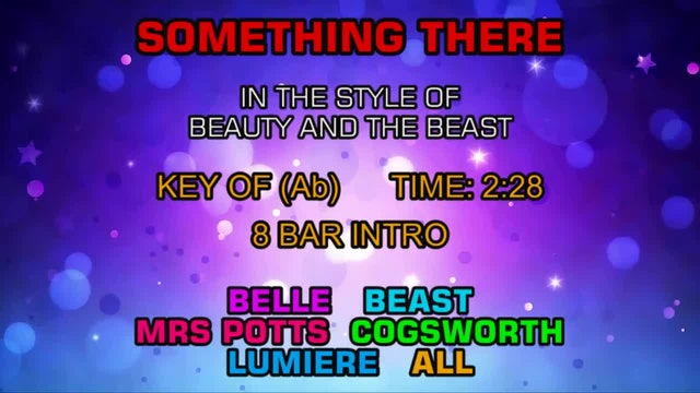 Beauty And The Beast - Something There