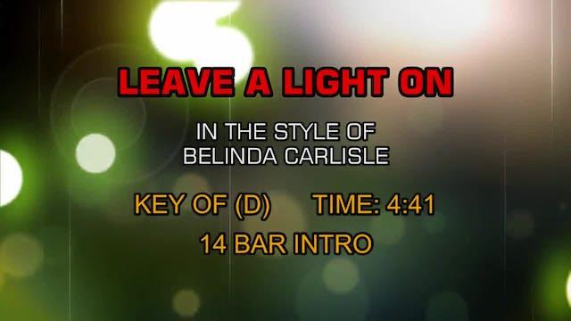 Belinda Carlisle - Leave A Light On