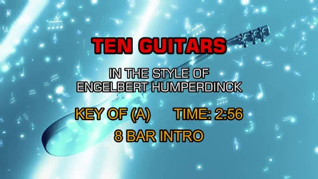 Engelbert Humperdinck - Ten Guitars