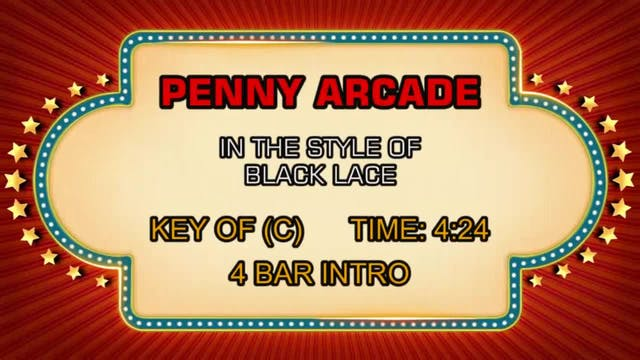 Black Lace - Penny Arcade