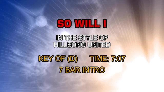 Hillsong Worship - So I Will