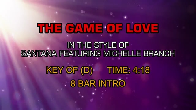 Santana Ftg. Michelle Branch - The Game Of Love