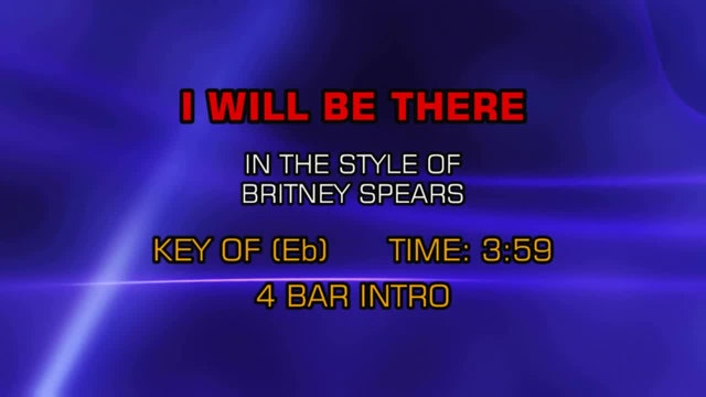Britney Spears - I Will Be There
