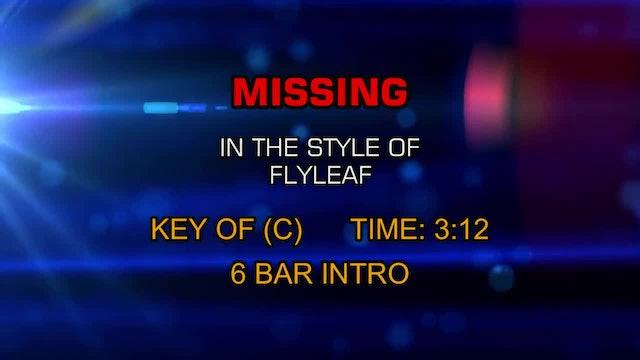 Flyleaf - Missing