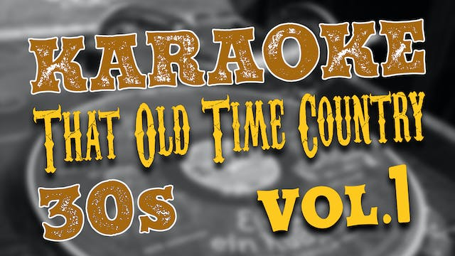 Old Time Country Vol. 1