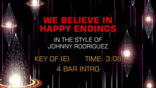 Johnny Rodriguez - We Believe In Happ...