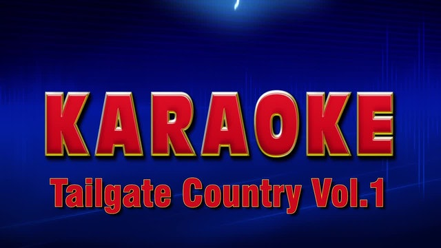 Lightning Round Karaoke - Tailgate Country Vol. 1