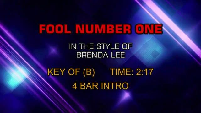 Brenda Lee - Fool Number One