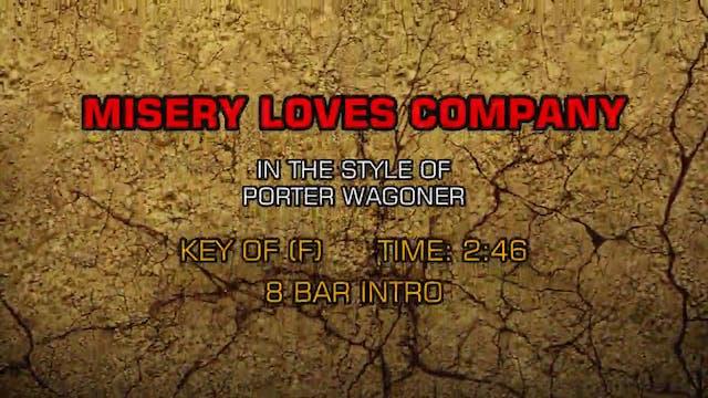 Porter Wagoner - Misery Loves Company