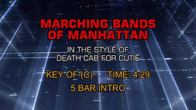 Death Cab For Cutie - Marching Bands ...