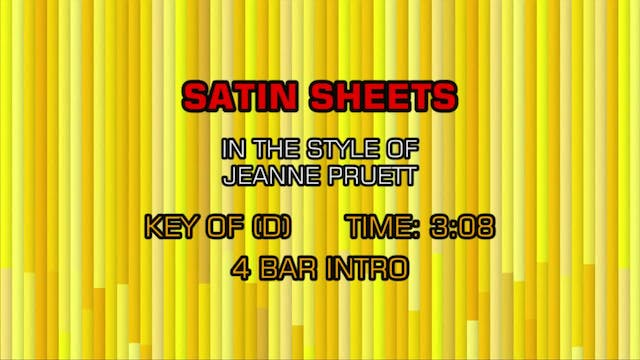 Jeanne Pruett - Satin Sheets